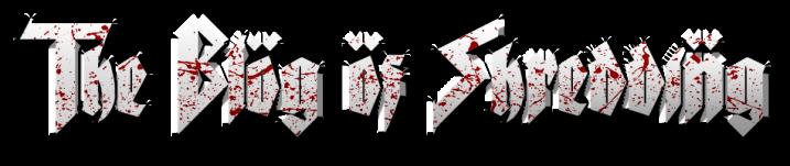 The Blog of Shredding logo