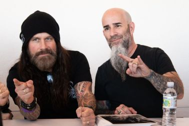 Phil Demmel (Vio-Lence, ex-Machine Head) & Scott Ian (Anthrax)