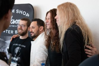 Dave Davidson (Revocation), Angel Vivaldi, Chris Broderick (In Flames, Act of Defiance), Jeff Loomis (Arch Enemy, Nevermore)
