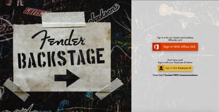 Fender Backstage